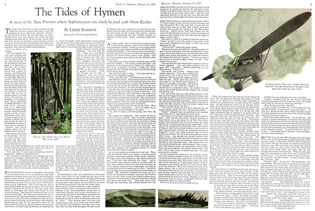 Article Preview: The Tides of Hymen, February 1929 | Maclean's
