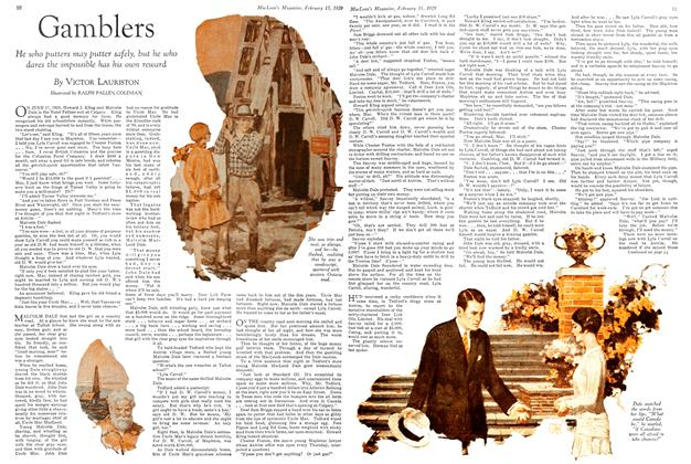 Article Preview: Gamblers, February 1929 | Maclean's