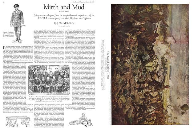 Article Preview: Mirth and Mud PART TWO, March 1929   Maclean's