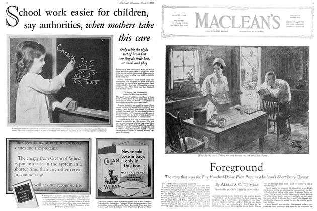 Article Preview: Foreground, March 1929 | Maclean's