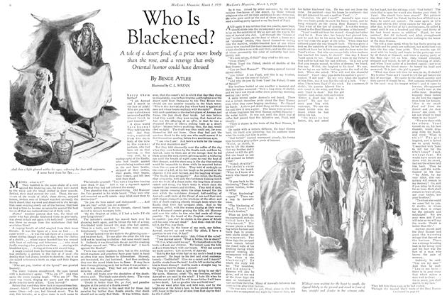 Article Preview: Who Is Blackened?, March 1929 | Maclean's