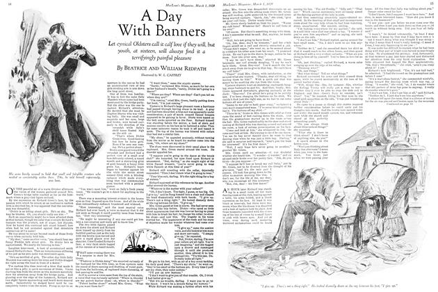 Article Preview: A Day With Banners, March 1929 | Maclean's