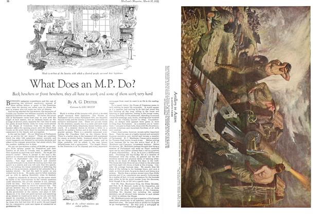 Article Preview: What Does an M.P. Do?, March 1929 | Maclean's