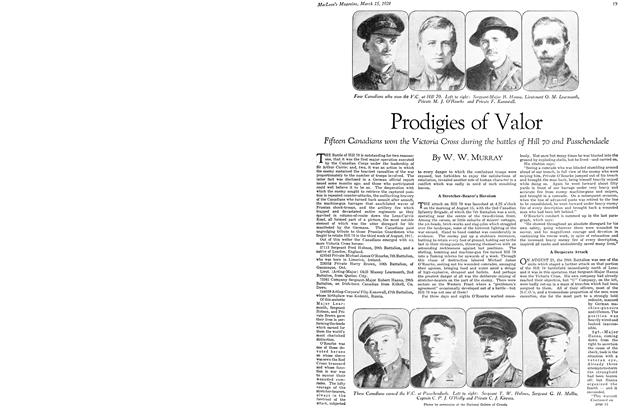 Article Preview: Prodigies of Valor, March 1929 | Maclean's