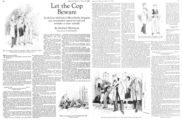 Article Preview: Let the Cop Beware, March 1929 | Maclean's
