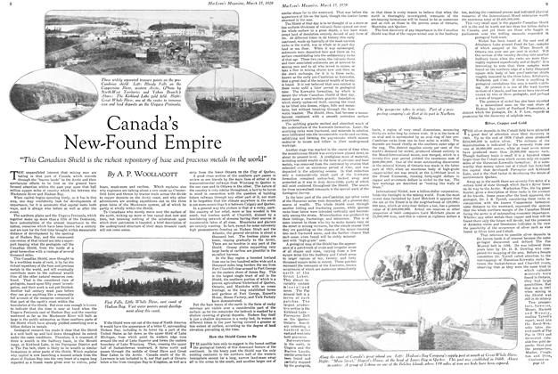 Article Preview: Canada's New-Found Empire, March 1929 | Maclean's