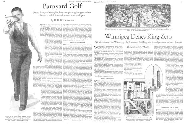 Article Preview: Barnyard Golf, March 1929 | Maclean's