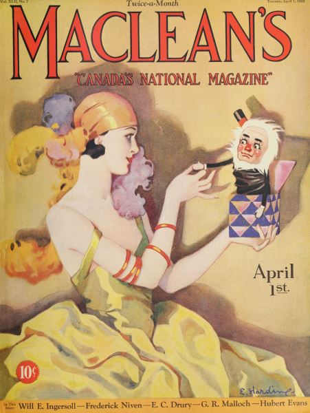 Issue: - April 1929 | Maclean's