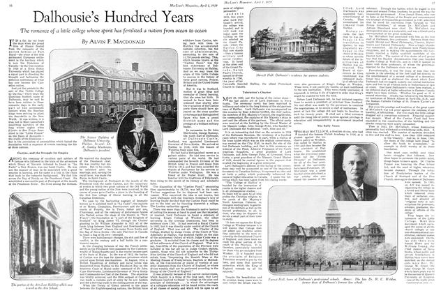 Article Preview: Dalhousie's Hundred Years, April 1929 | Maclean's