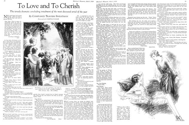 Article Preview: To Love and To Cherish, April 1929 | Maclean's
