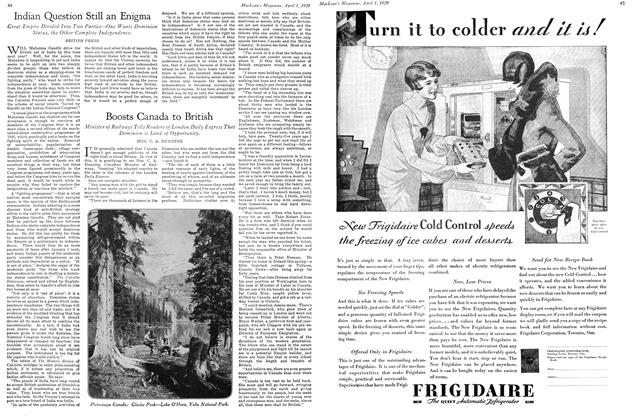 Article Preview: Indian Question Still an Enigma, April 1929 | Maclean's