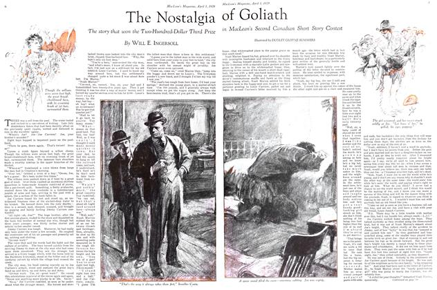 Article Preview: The Nostalgia of Goliath, April 1929 | Maclean's