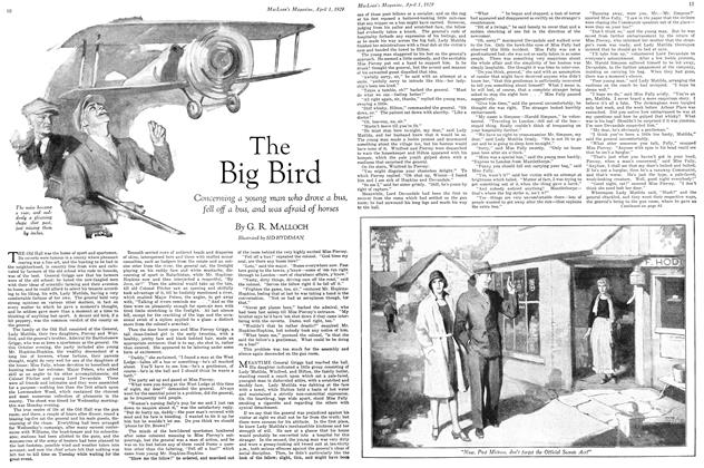 Article Preview: The Big Bird, April 1929 | Maclean's