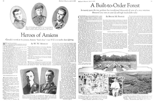 Article Preview: Heroes of Amiens, April 1929 | Maclean's