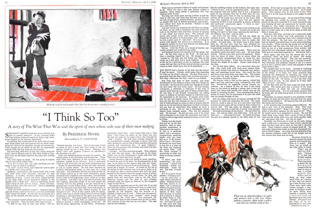 "Article Preview: ""I Think So Too"", April 1929 
