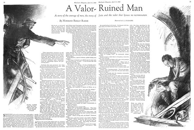 Article Preview: A ValorRuined Man, April 15 1929 | Maclean's