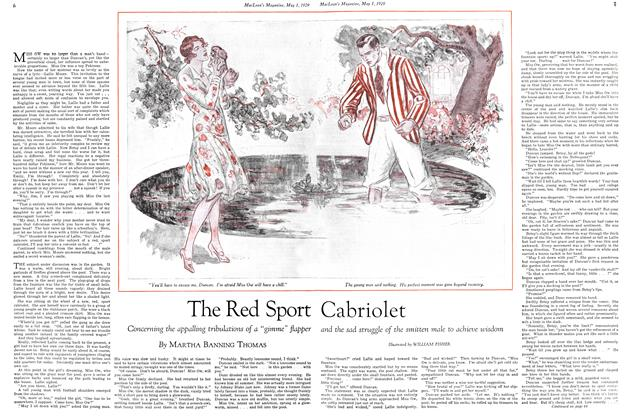 Article Preview: The Red Sport Cabriolet, May 1929 | Maclean's