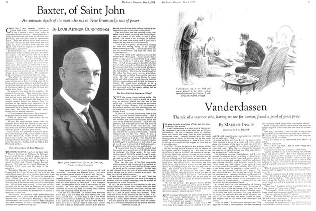 Article Preview: Baxter, of Saint John, May 1929 | Maclean's