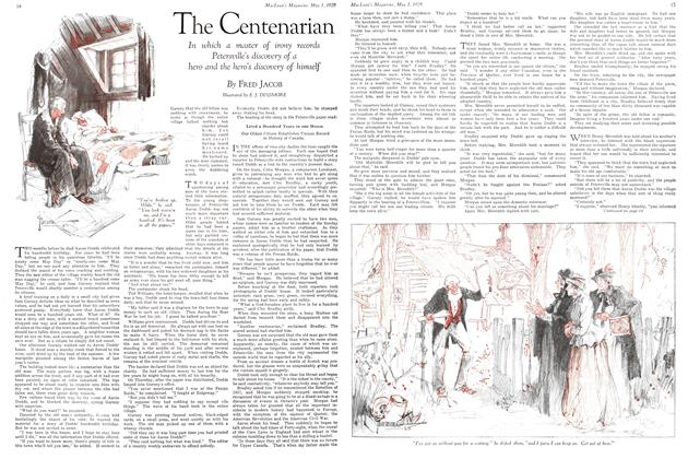 Article Preview: The Centenarian, May 1929 | Maclean's