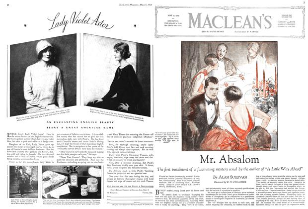 Article Preview: Mr. Absalom, May 1929 | Maclean's