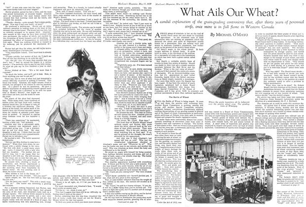 Article Preview: What Ails Our Wheat?, May 1929 | Maclean's
