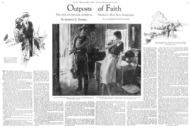 Article Preview: Outposts of Faith, May 1929 | Maclean's
