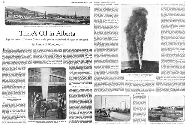 Article Preview: There's Oil in Alberta, May 1929 | Maclean's