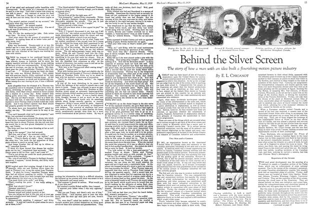 Article Preview: Behind the Silver Screen, May 1929 | Maclean's