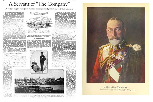 "Article Preview: A Servant of ""The Company"", June 1929 