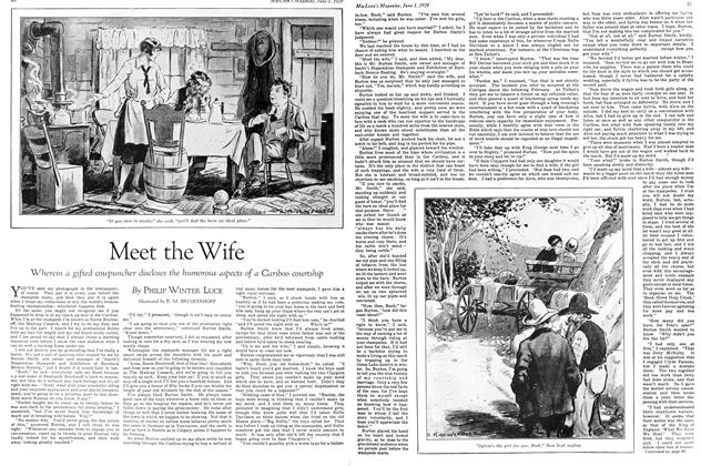 Article Preview: Meet the Wife, June 1929 | Maclean's