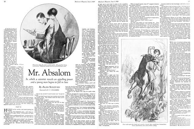 Article Preview: Mr. Absalom, June 1929 | Maclean's