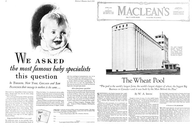 Article Preview: The Wheat Pool, June 1929 | Maclean's