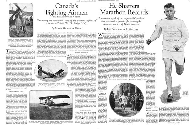 Article Preview: Canada's Fighting Airmen SIX: BARKER BECOMES A PILOT, June 1929 | Maclean's