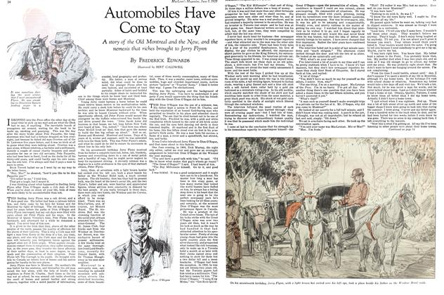 Article Preview: Automobiles Have Come to Stay, June 1929 | Maclean's