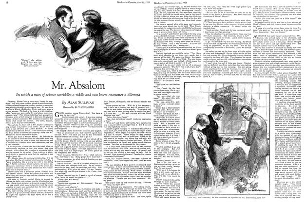 Article Preview: Mr. Absalom, June 15TH 1929 | Maclean's
