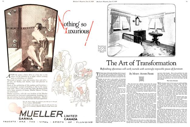 Article Preview: The Art of Transformation, June 15TH 1929 | Maclean's