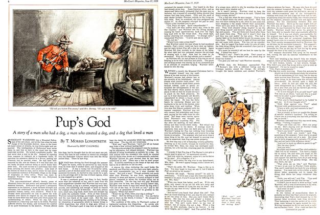 Article Preview: Pup's God, June 15TH 1929 | Maclean's