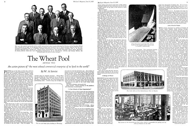 Article Preview: The Wheat Pool, June 15TH 1929 | Maclean's