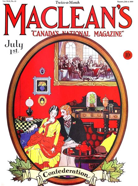 Issue: - July 1929 | Maclean's