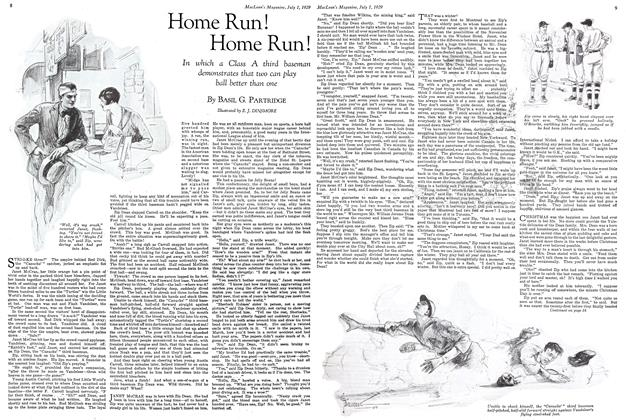 Article Preview: Home Run ! Home Run!, July 1929 | Maclean's