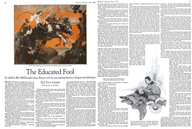 Article Preview: The Educated Fool, July 1929 | Maclean's