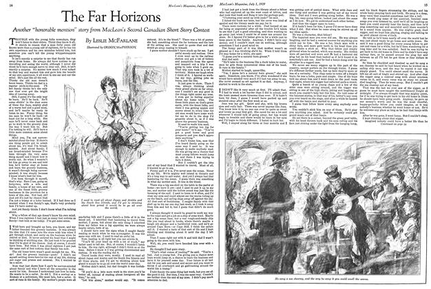 Article Preview: The Far Horizons, July 1929 | Maclean's