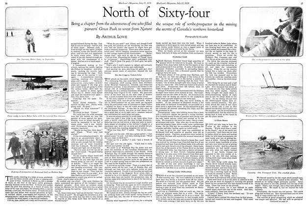 Article Preview: North of Sixty-four, July 1929 | Maclean's