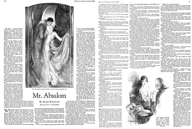 Article Preview: Mr. Absalom, July 1929 | Maclean's