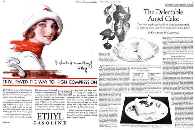 Article Preview: The Delectable Angel Cake, July 1929 | Maclean's