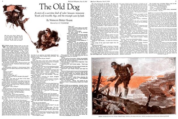 Article Preview: The Old Dog, July 1929 | Maclean's