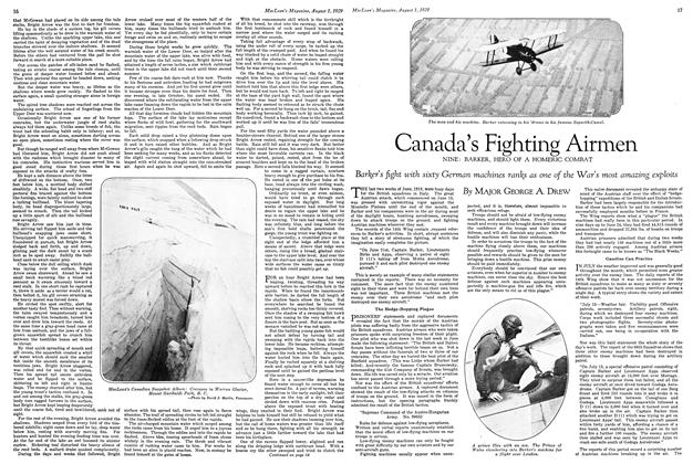 Article Preview: Canada's Fighting Airmen, August 1929 | Maclean's