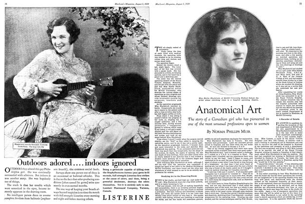 Article Preview: Anatomical Art, August 1929 | Maclean's