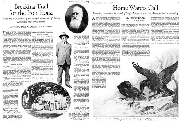 Article Preview: Home Waters Call, August 1929 | Maclean's