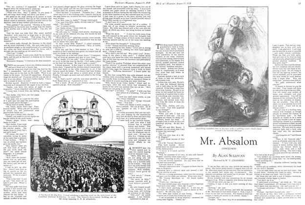 Article Preview: Mr. Absalom, August 1929 | Maclean's